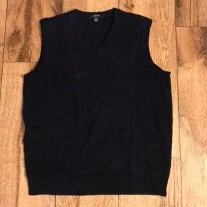 J. Crew Navy Blue sweater vest | Size: Medium